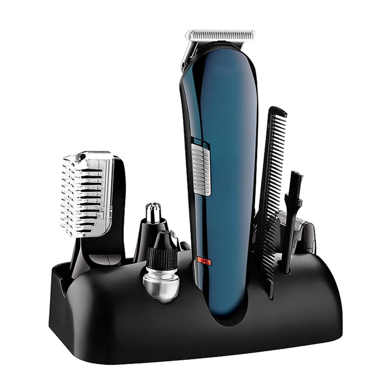 Hair Clippers, 5 in 1 Rechargeable Cordless Electic Grooming Kit with Nose Trimmer, Styling Trimmer