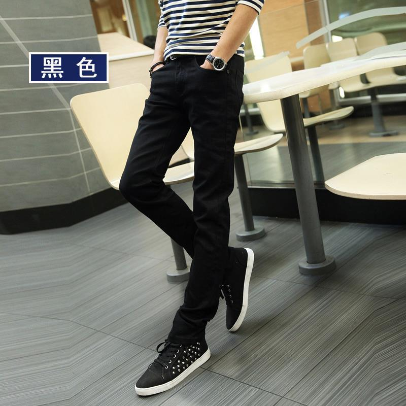 2019 New Casual Men's Men'S Wear Spring And Summer Slim Fit Capri Jeans Cheap Significant Leg Length