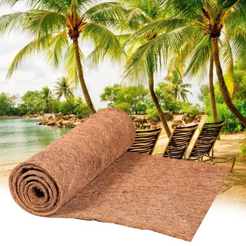 Mata kokosowa mata doniczka mata kokosowa luzem rolki dłoni dywan na ścianie wiszące kosze doniczka mata gad kokosowy Pad tanie i dobre opinie CN (pochodzenie) Coconut Pad Niepowlekany Kosz wkładki Z włókna roślinnego Reptile Coconut Pad Coco Liner Bulk Roll