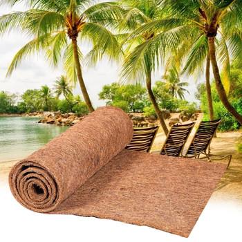 Mata kokosowa mata doniczka mata kokosowa luzem rolki dłoni dywan na ścianie wiszące kosze doniczka mata gad kokosowy Pad tanie i dobre opinie CN (pochodzenie) Coconut Pad Niepowlekany Z włókna roślinnego Reptile Coconut Pad Coco Liner Bulk Roll Garden Supplies