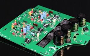 Image 1 - Placa amplificador estéreo de alta fidelidade/kit/pcb 75 w + 75 w diy power amp base no circuito naim nap200