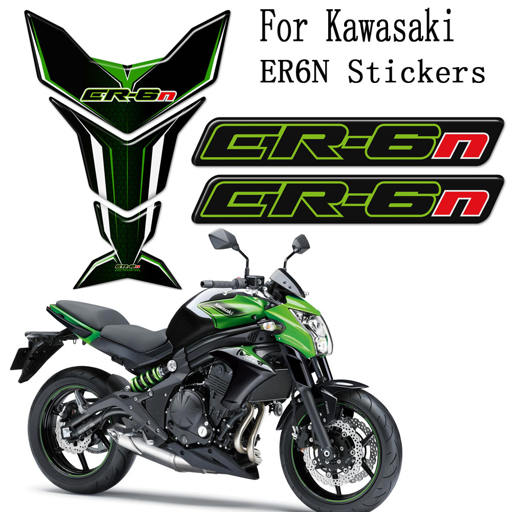 ER-6N 2010 ninja decals stickers set kit 650 EX-6 наклейки logo emblems er6n
