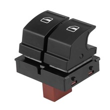 Window Button Switch for Skoda Octavia Fabia 2 Roomster 1Z0959858(China)