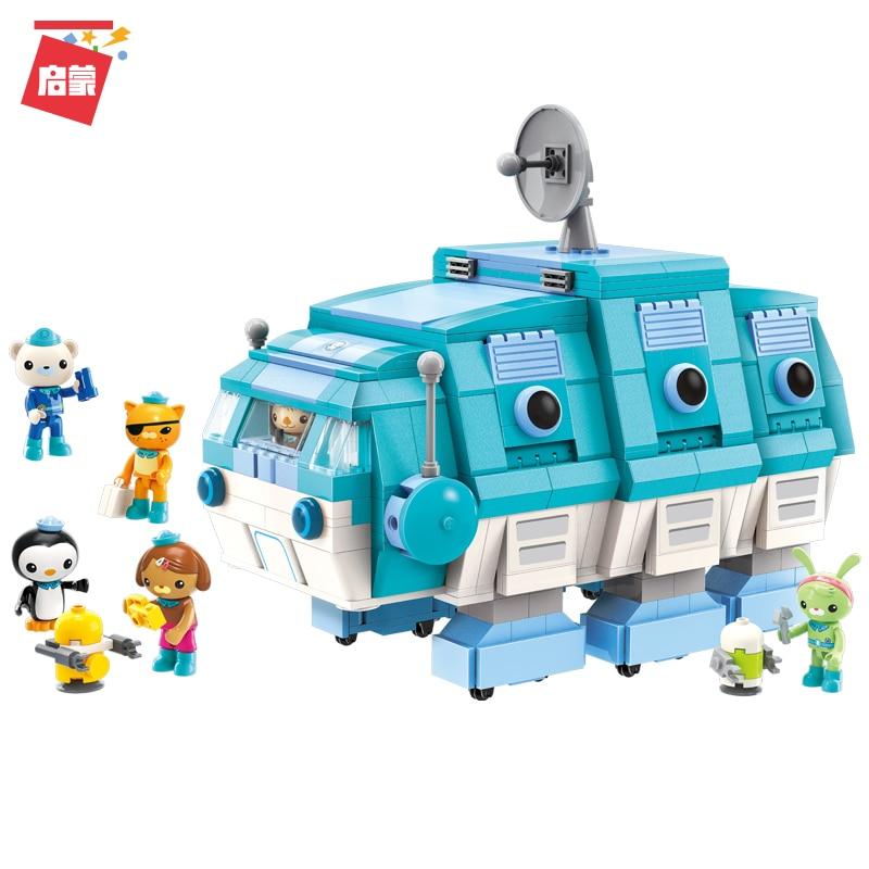 Enlighten Octonauts All Set Brick Toys 75