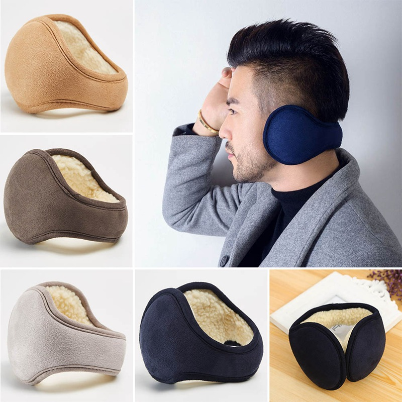 Suede Earmuffs Unisex Lambswool Warmer Earmuff Warm Ear Muffs Cover Earwarmers Ear Muffs Earlap Warmer Girls Winter Ears