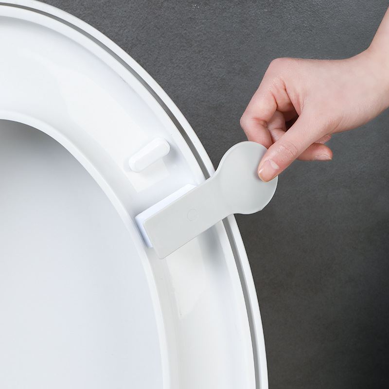 Household Northern European-Style Antifouling Not Dirty Hands Potty Cover Lifting Handle Flip Handle Toilet Cover Toilet Seat Li