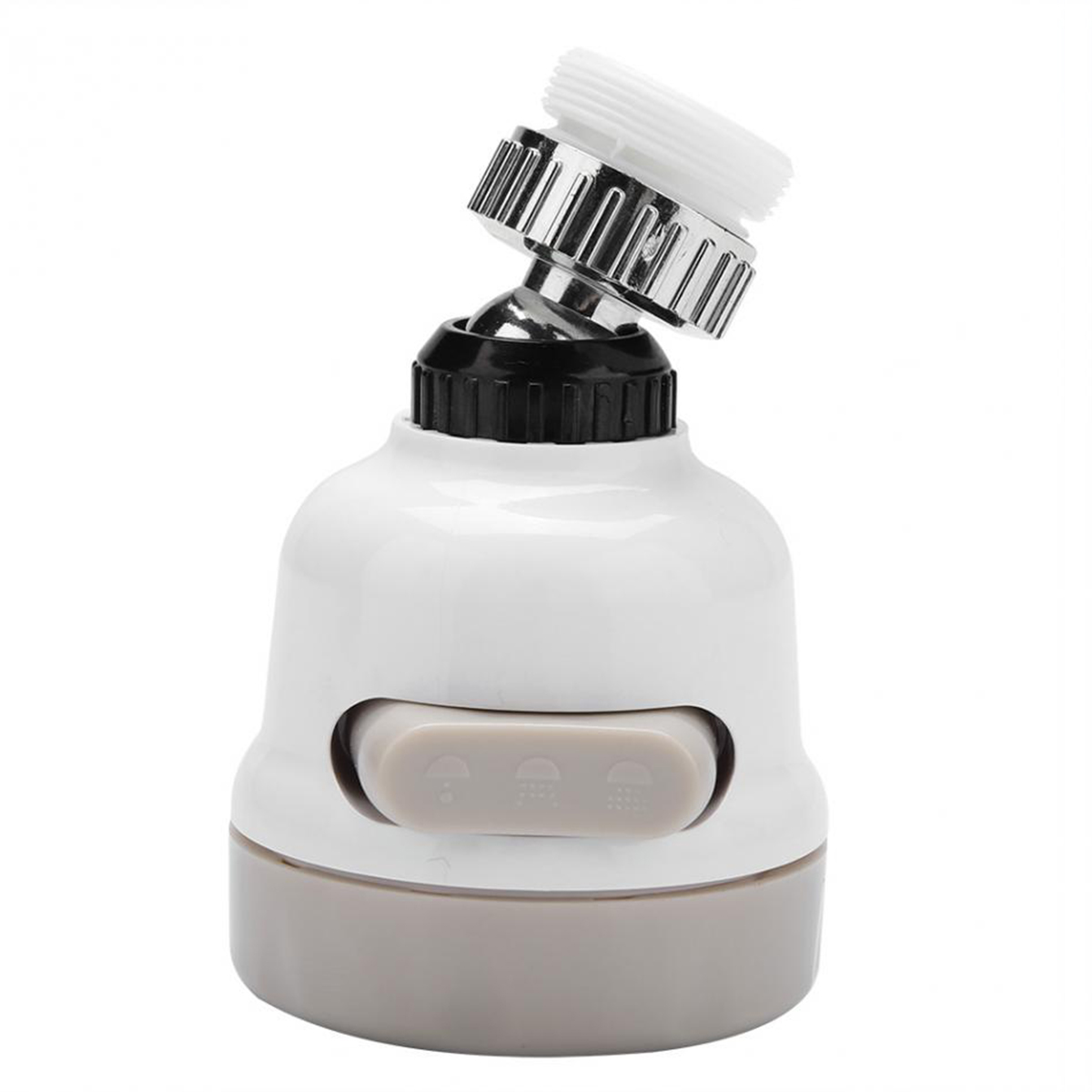 360° Rotating Kitchen Faucet Kitchen Moveable Flexible Tap Head Shower Diffuser Rotatable Nozzle Adjustable Booster Faucet