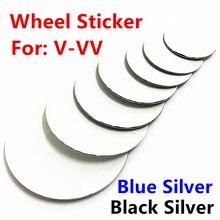 4 шт., колпачки-эмблемы на колесные диски VW, 45, 50, 55, 56, 60, 65, 70, 75, 80, 90 мм