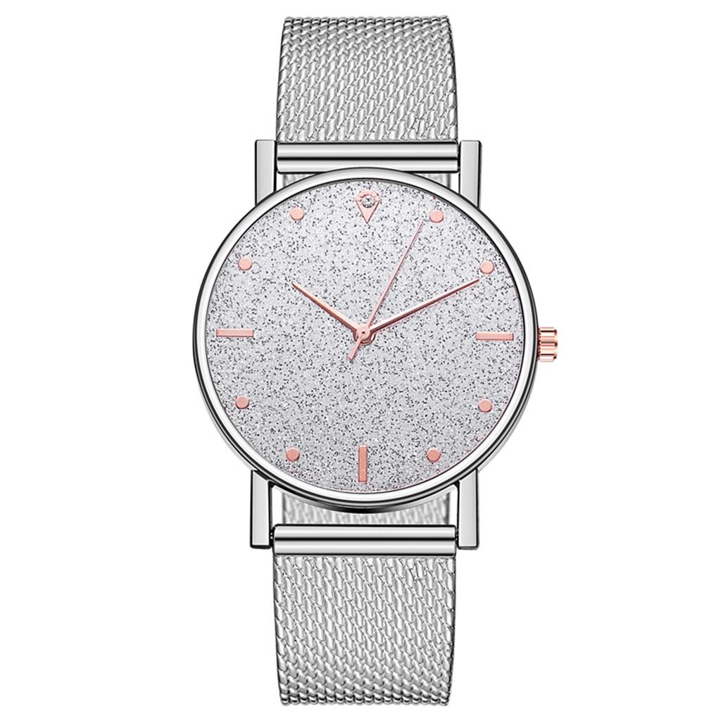 2020 Fashion Ladies Quartz Bracelet Watch Female Stainless Steel Dress Wristwatch Luxury Brand Relogio Feminino Clock Hot Sale