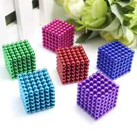 Kostka magnetyczna Neo kostka magiczna kostka Bucky Puzzle 3mm 4mm koraliki kulki bloki Puzzle