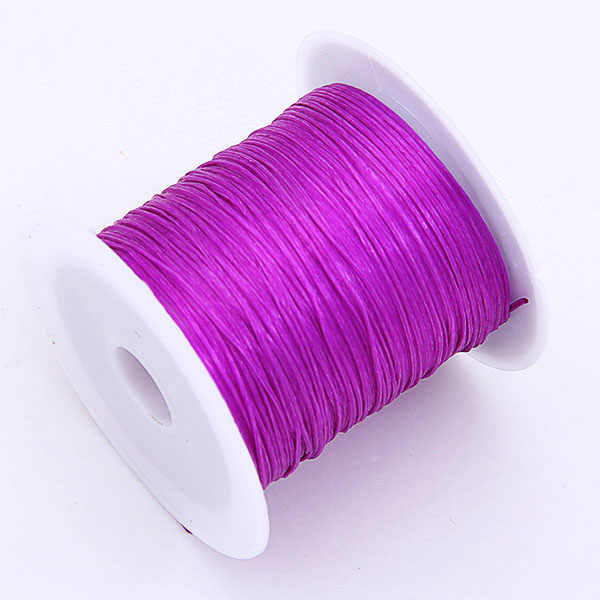 0.6mm Colorful Stretch Elastic Crystal Line Jewelry Making Beading Cord/String/Thread 1Roll x 10M