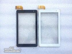 Konserwacja i wymiana nowy 7 cal oryginalny płaski panel ekran dotykowy H06.3578.001 pojemnościowy CX18A 031 V04 czujnik cyfrowy w Ekrany LCD i panele do tabletów od Komputer i biuro na