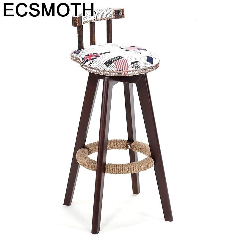 Sedie Sedia Sandalyeler Stoel Cadeira Ikayaa Sandalyesi Stoelen Leather Stool Modern Silla Tabouret De Moderne Bar Chair
