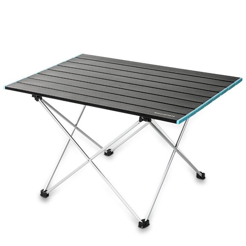 New Outdoor picnic folding table super light aluminum alloy fishing table camping table chair self driving picnic table