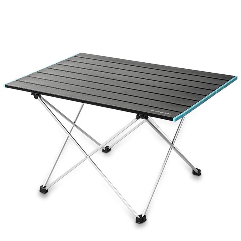 Новинка, яркий Суперлегкий стол для рыбалки из алюминиевого сплава, стол для кемпинга, стол для самостоятельного вождения и пикника