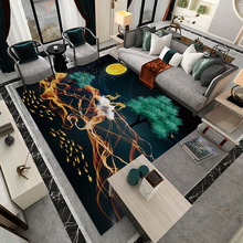 Silstar Tex 3d Carpet Large Area Rug Abstract Art Printed Mats For Living Room Bedroom Antifouling Floor Kitchen Mat Tapete