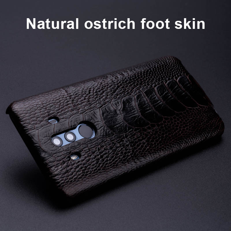 Ostrich Skin Phone Case For Huawei Mate 20 10 9 Pro P10 P20 Lite Soft TPU Edge Cover For Honor 8X Max 9 10 Nova 3 3i Capa - 2