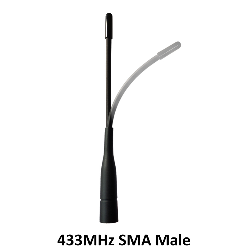10pcs 433MHz antenna SMA Male Connector antena 433 mhz antenne directional waterproof antennas for Walkie talkie wireless in Intercom Accessories from Security Protection