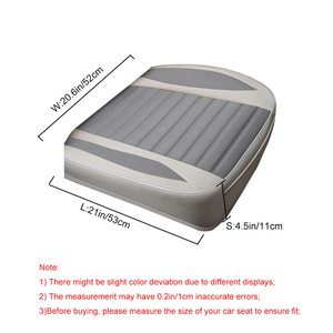 Image 2 - Car Seat Cover,Flax Cushion Seasons Universal Breathable  For Most Four Door Sedan&SUV Ultra Luxury Car Seat Protection