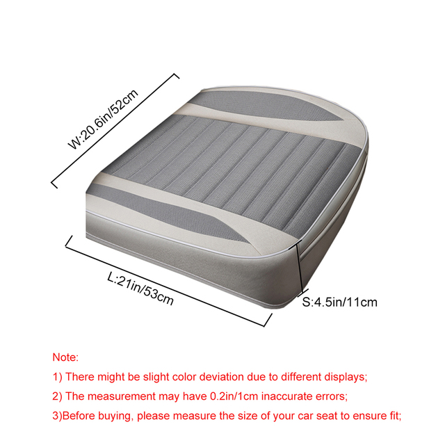 Car Seat Cover Flax Cushion Seasons Universal Breathable For Most Four Door Sedan SUV Ultra