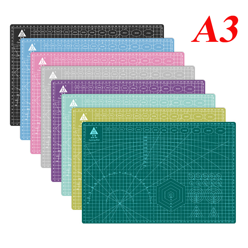 Cutting Mat Cutting Pad Patchwork Cut Pad A3 PVC Patchwork Tools Manual DIY Tool Cutting Board Double-sided Self-healing