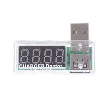 1pc DC 3.5V 7V USB Current Voltage Charging Detector Tester Battery Voltmeter Ammeter Charger Doctor Wholsale