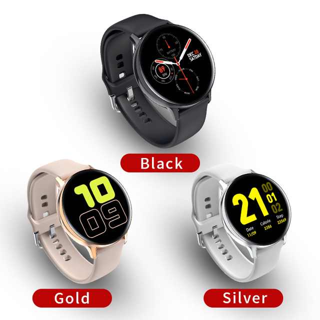 Zurexa S20 Smart Watch Men IP68 Fitness Sports Smartwatch Android ECG PPG Smart Watch Women Waterproof Smart Clock Round 2020 6
