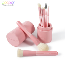 Docolor Makeup Brushes Professional 8pcs Make up brush Set Foundation Eyeshadow Blush Blending Makeup Brushes With brush holder planet nails лак для ногтей матовый планет нейлс 17 мл 92 оттенка 821