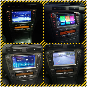 Image 2 - ذاكرة الوصول العشوائي أندرويد 10.0 مشغل أسطوانات للسيارة ستيريو الوسائط المتعددة سماعة لتويوتا أفينسيس/T25 2003 2008 راديو تلقائي لتحديد المواقع والملاحة الفيديو والصوت