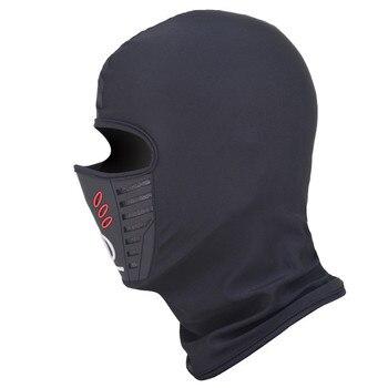 Winter Motorcycle Headgear Head Wear Warm Ski Motorbike Cycling Protective Face Mask Helmet Cap Windproof Fleece Balaclava Hat women s fleece helmet hat one size fits most