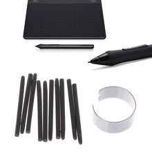 OOTDTY 10 Pcs Graphic Drawing Pad Standard Pen Nibs Stylus for Wacom Drawing Pen(China)