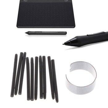 OOTDTY 10 Pcs Graphic Drawing Pad Standard Pen Nibs Stylus for Wacom Drawing Pen цена 2017