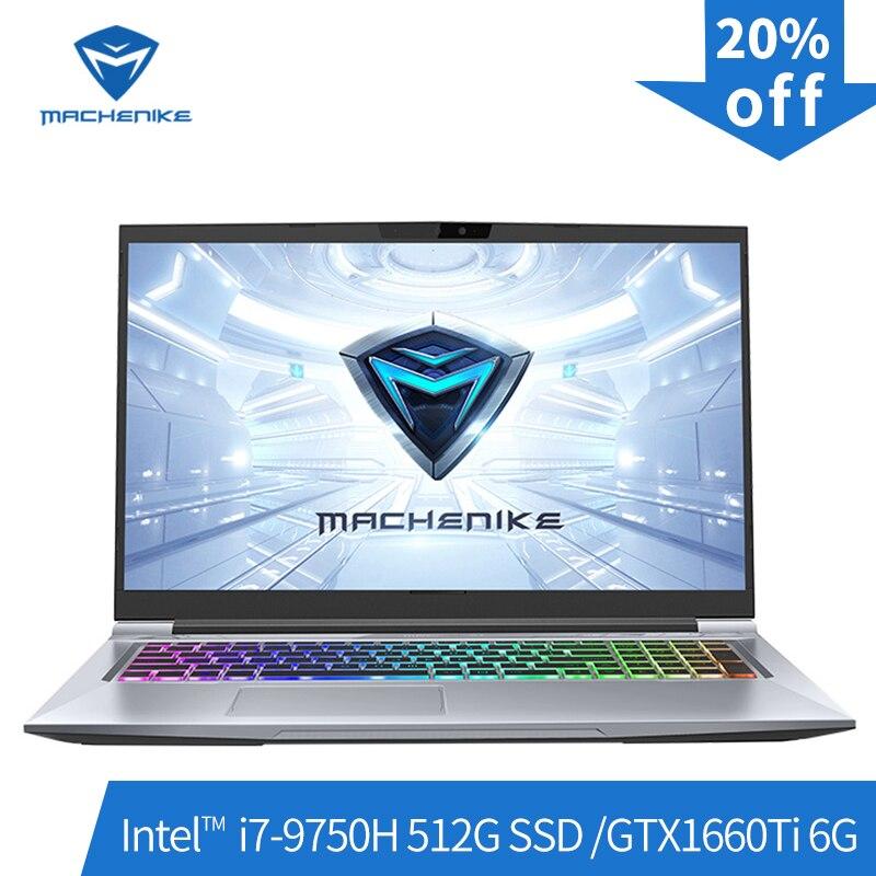 Machenike T90-PLus gaming laptops (Intel i7-9750H+GTX1660Ti 6G/8GB RAM/512G SSD/17.3''144Hz ) игровой ноутбук notebook