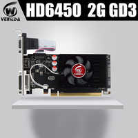 Veineda Graphics Cards HD6450 2GB DDR3 HDMI Graphic Video Card High-end GameGraphicsCardHD6450
