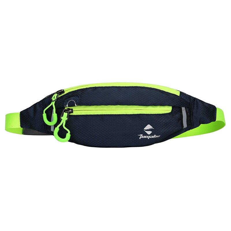 Jogging Waist Bag Travel Pocket Key Wallet Pouch Phone Holder Chest Marathon Bag Waterproof Nylon Sports Running Pockets