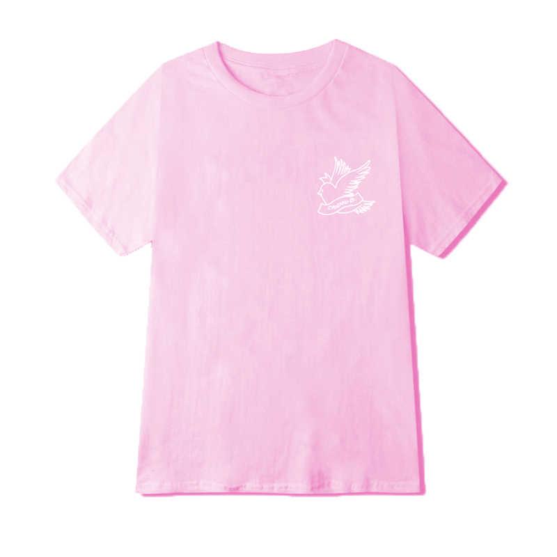 新到着リルのぞき見tシャツメンズコットン半袖oネックリルのぞき見盗品ブランドヒップホップカジュアルな男性の女性夏おかしいトップス