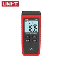 UNI-T mini tacômetro do laser digital não-contato tacômetro ut373 faixa de medição 10-99999rpm tacômetro odômetro km/h retroiluminação