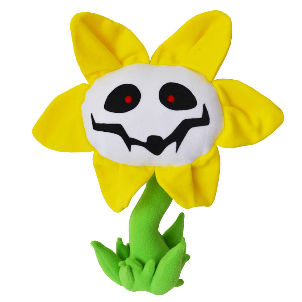 25cm Undertale Plush Toys Undertale Flowey Stuffed Toys For Children Kids Gifts Christmas Gift