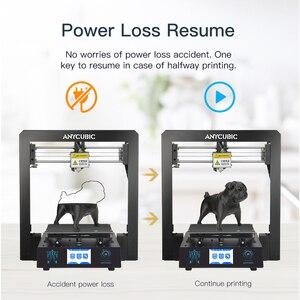 Image 5 - Cheap ANYCUBIC 3D Printer I3 Mega Industrial Lattice Platform All Metal Plus Size Impresora Desktop 3d DIY Kit imprimante