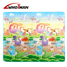 Whotman Infant Baby Play Mat 200cm Thick Gym Crawling Mat Double Surface  Dinosaur Developing Mat for Children Foam Game Pad Toy