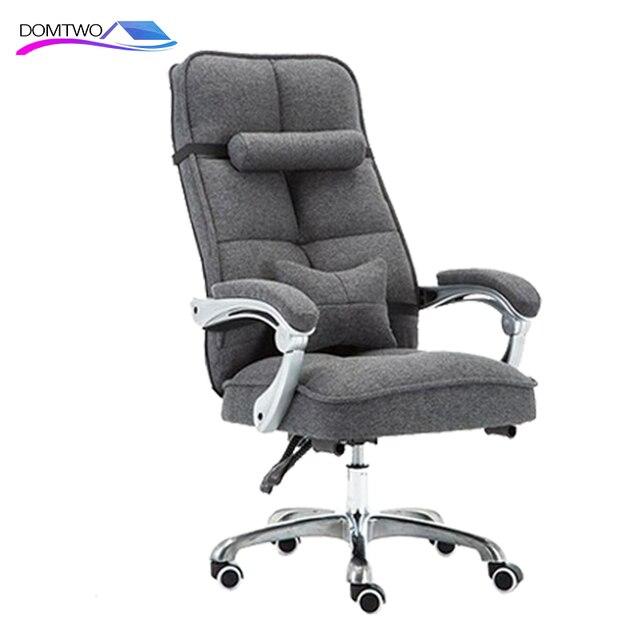 Cloth Computer Chair Home Office Chair Reclining Swivel Massage Chair