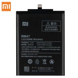 Image 2 - Batería Original BM47 para Xiaomi Redmi 3 3S 3X 4X Redmi3 Pro Redmi Note 4 4X Pro BN41 Xiaomi 9 M9 Mi9 BM3L Mi5s Mi 5S BM36