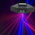 Беспроводное управление RGB лазерный 16 изображение линий луч сканирует DMX DJ рейка Кофе Рождество дома вечерние диско-эффект освещения Систем...