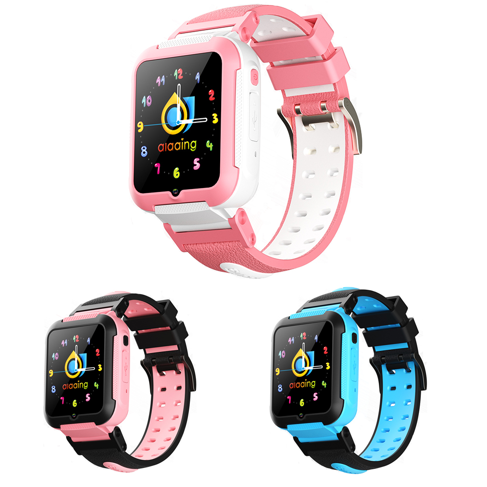 2019 E7 Kids Smart Watch 4G GPS WIFI Tracking Video Call SOS Voice Chat Children Watch Care For Baby Boy Girl Smartwatch