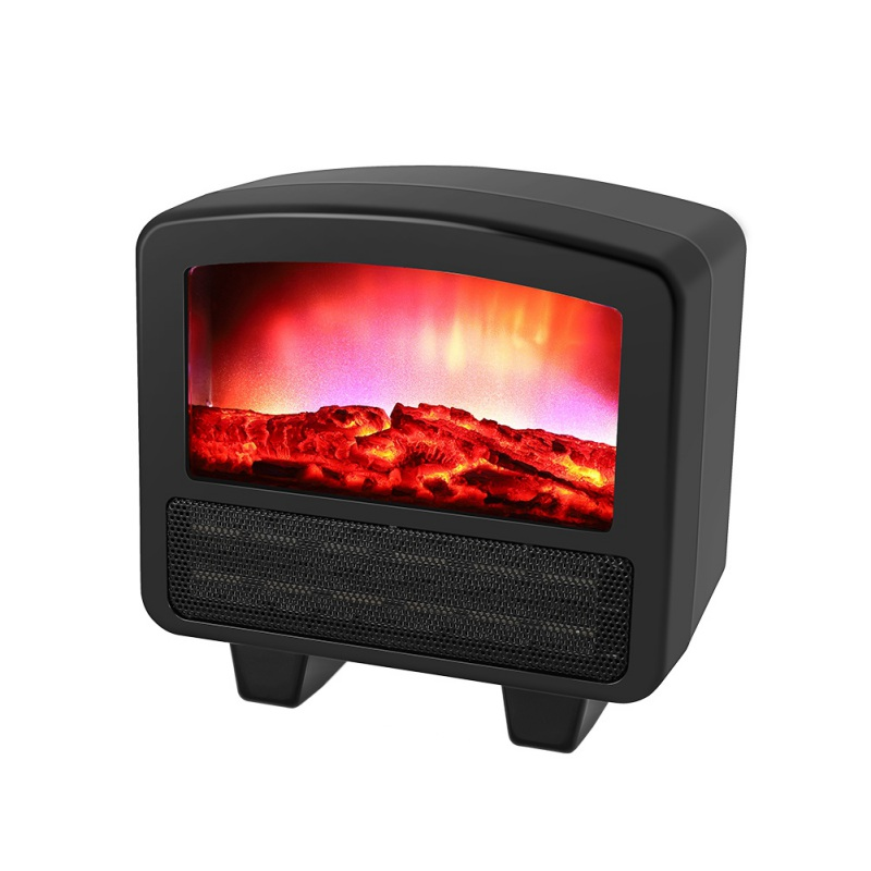 Vertical Home Retro Heaters Namely Hot Type Heaters Office Electric Heaters 3D Electric Fireplace Small Electric Space Heater