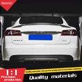 Для Tesla модель S спойлер 2012-2018 Tesla модель S Высокое качество углеродного волокна спойлер из материала для Tesla модель s спойлер