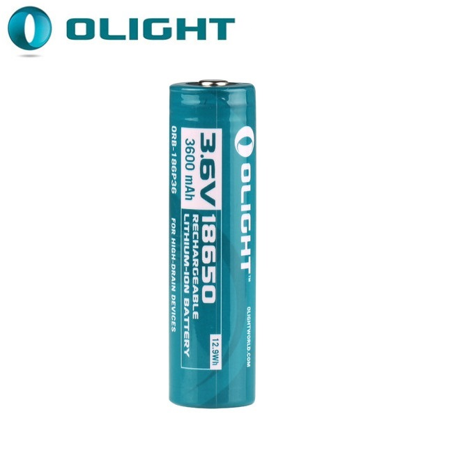 Image 1 - Olight ORB 186P36 3.6V 3600mAh 18650 Rechargeable Lithium ion batteryPortable Lighting Accessories   -