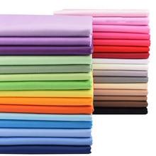 Chainho,32 série de cores sólidas, tecido de algodão de sarja impressa, pano de retalhos, diy costura & estofando material para bebê & criança
