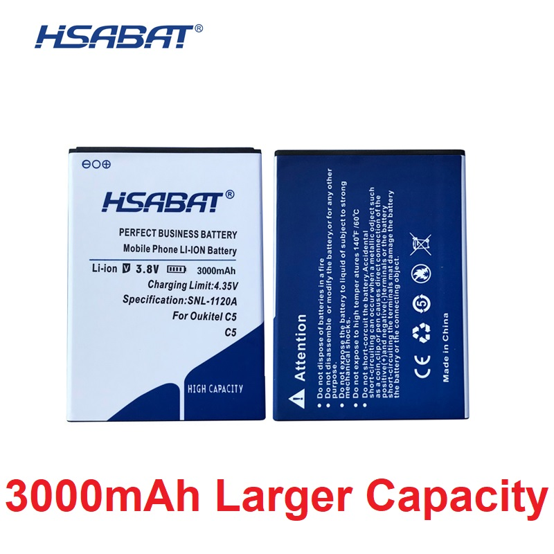 HSABAT Batteries Cycle-3000mah-Battery Oukitel C5 Mobile-Phone-Replacement For Pro High-Quality