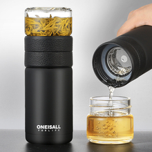 ONEISALL 580ml Stainless Steel Thermos Bottle Thermocup Tea Vaccum Flasks Christmas Gift Thermal Mug With Insufer For Office